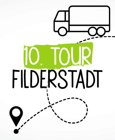 Liefertouren Hundefutter Stuttgart und Filderstadt