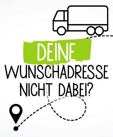 Liefertouren Hundefutter Stuttgart Wunschadresse